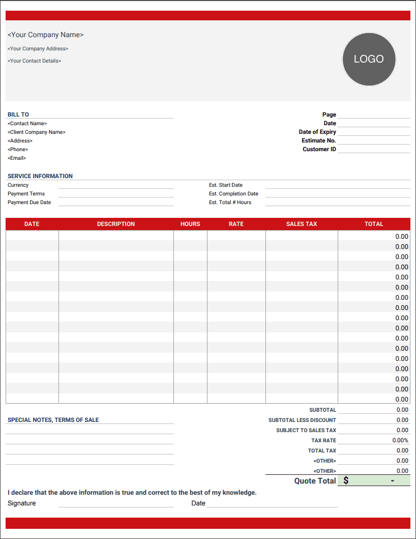 Pro Forma Invoice Templates Free Download Invoice Simple